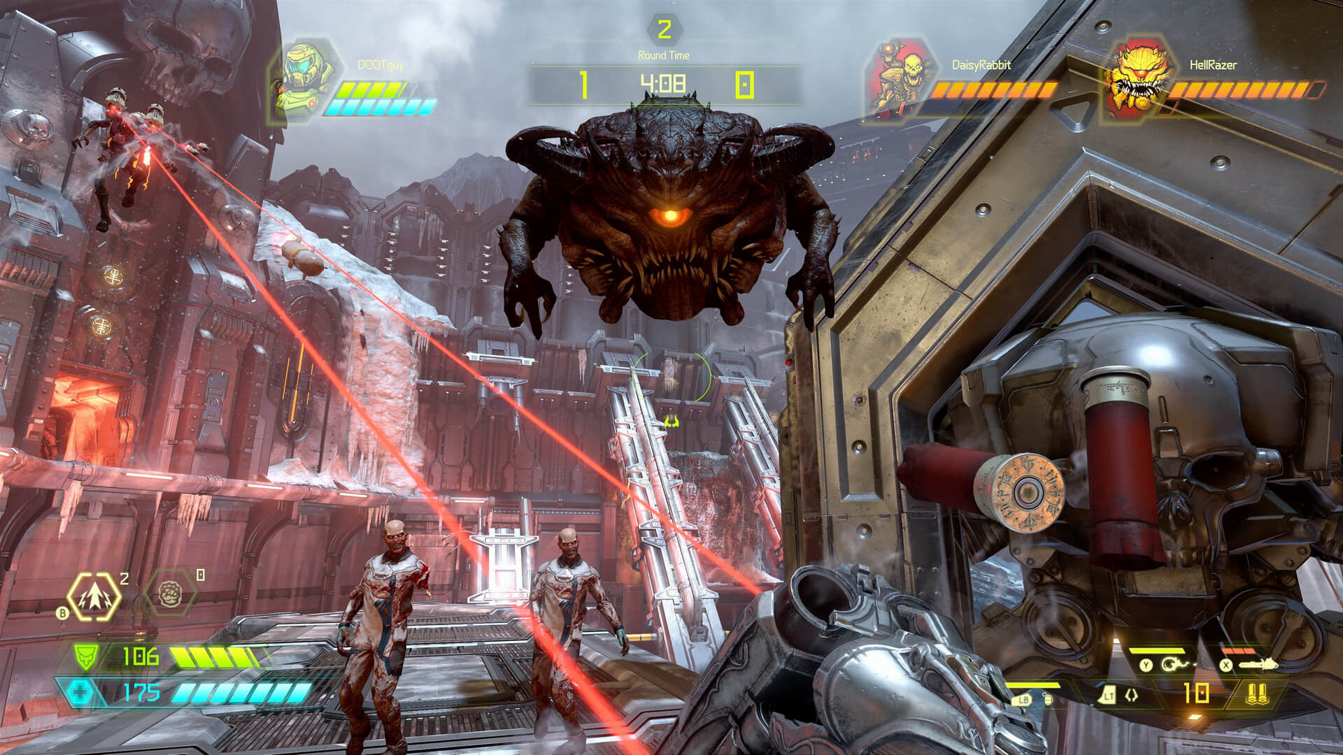 New Doom Eternal screenshots showcase the new multiplayer mode ...