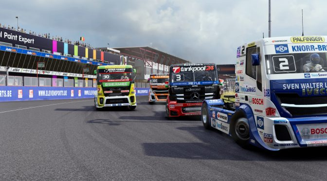 FIA European Truck Racing Championship releases on July 18th, gets new gameplay trailer