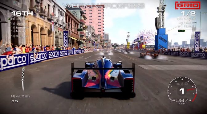 New official GRID gameplay trailer showcases the Havana Street Circuit