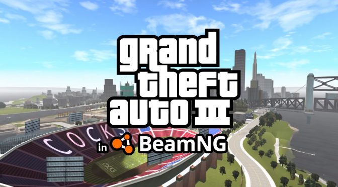 Grand Theft Auto 3 Liberty City has been ported into BeamNG, available for download