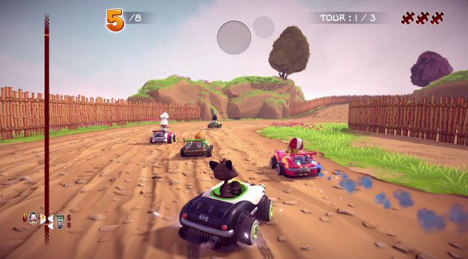 Garfield Furious Kart Racing is coming to the PC on November 5th, new screenshots released
