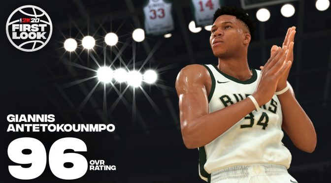 First in-game trailer released for NBA 2K20