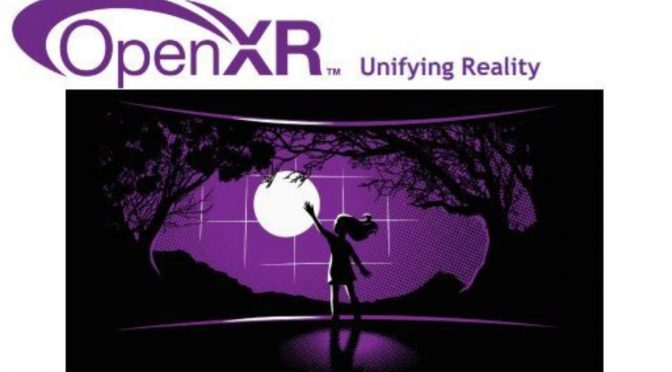 The Khronos Group announced the OpenXR 1.0 specifications for virtual and augmented reality