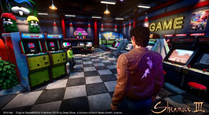 New in-engine trailer released for Shenmue 3, showcasing environments and characters