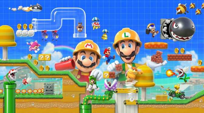 Super Mario Maker 2 is already playable on the Nintendo Switch emulator, yuzu