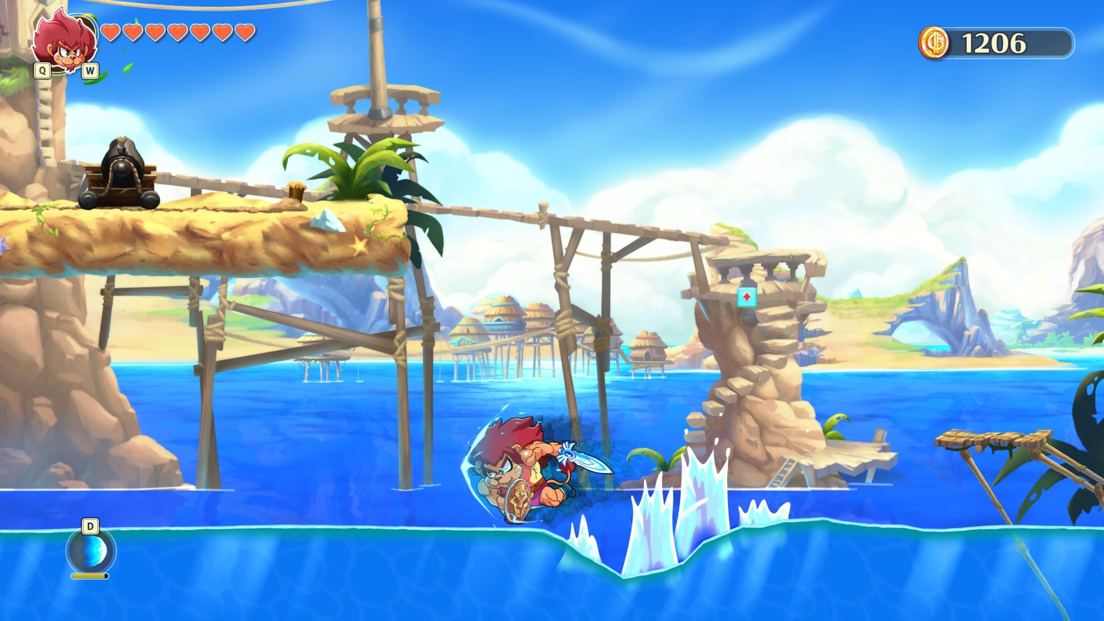 Monster Boy and the Cursed Kingdom Review - DSOGaming