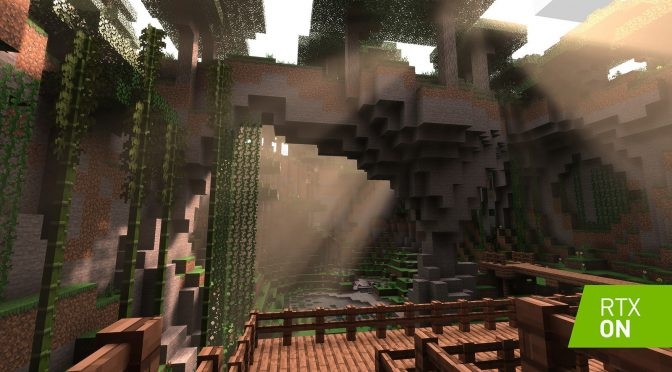 Minecraft NVIDIA Ray Tracing
