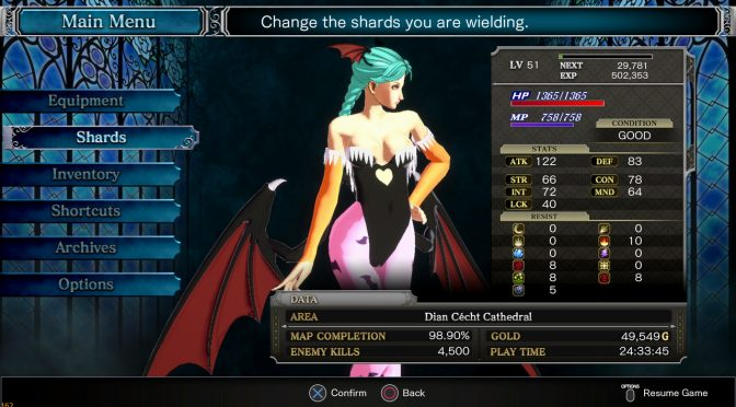 You can now play as Morrigan from Darkstalkers in Bloodstained: Ritual of the Night