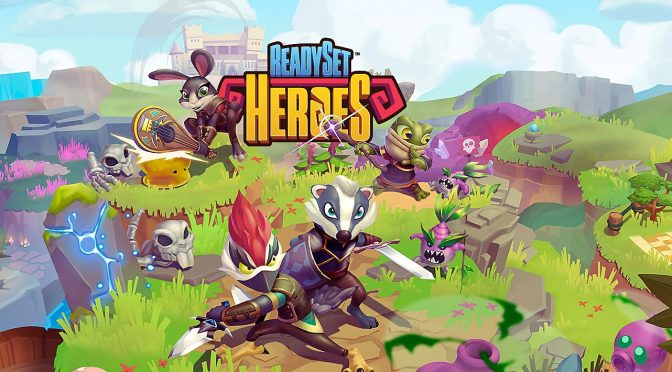 PS4-exclusive ReadySet Heroes is coming to the PC on October 29th + PC System Requirements