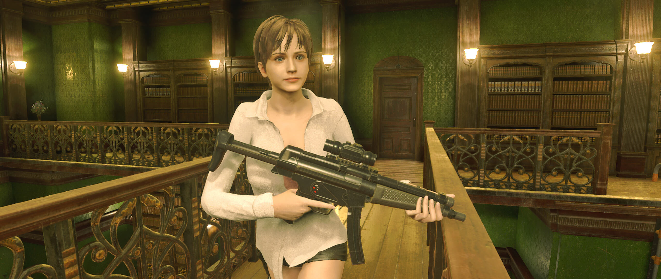 Rebecca Chambers is now playable in Resident Evil 2 Remake thanks to