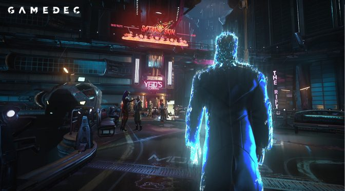 Here are 10 minutes of gameplay footage from the Cyberpunk-themed RPG, Gamedec