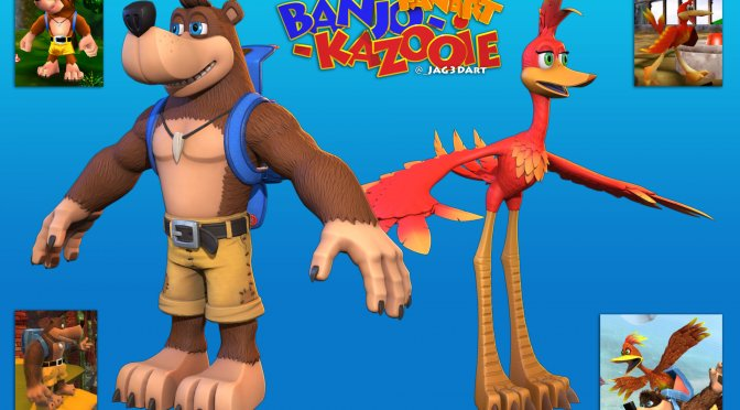 Here is what a next-gen remake of Banjo Kazooie could look like