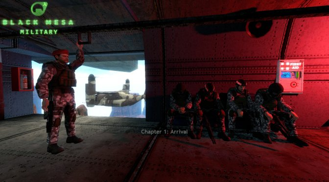 Black Mesa: Military Early Access Version is now available for download