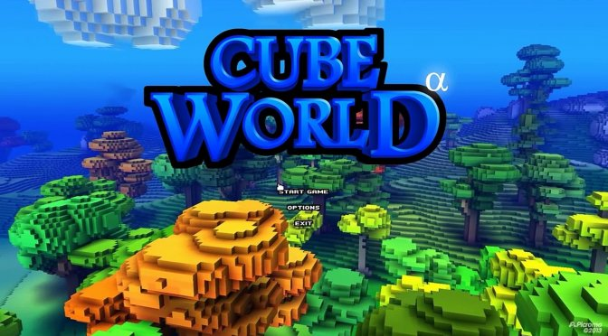 Cube World is coming to Steam in September/October 2019