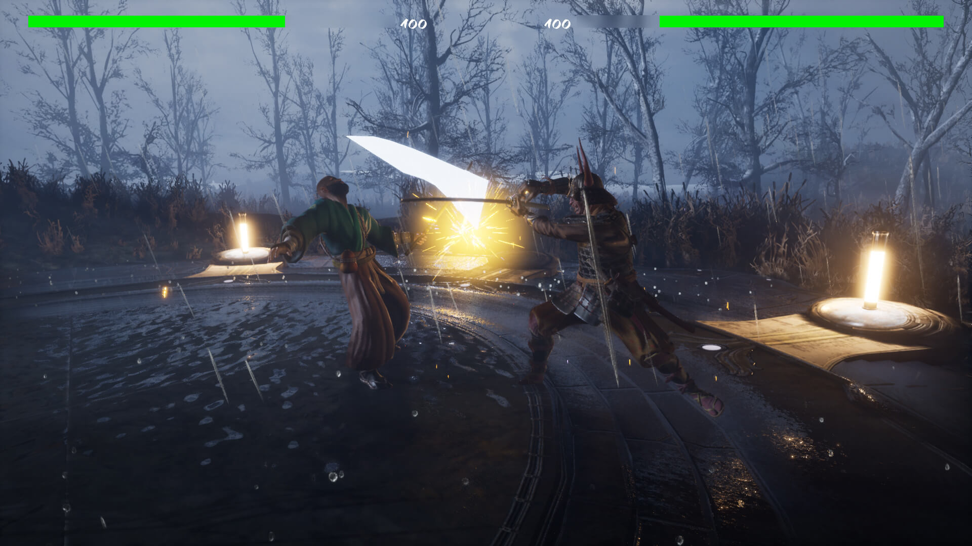 Die by the Blade is a new one-hit fighter, inspired by
