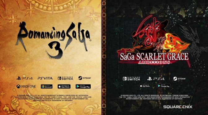 Romancing SaGa 3 and SaGa SCARLET GRACE: AMBITIONS are coming to the PC later this year