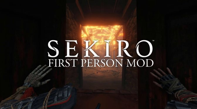 You can now play Sekiro: Shadows Die Twice in first-person mode thanks to this amazing mod