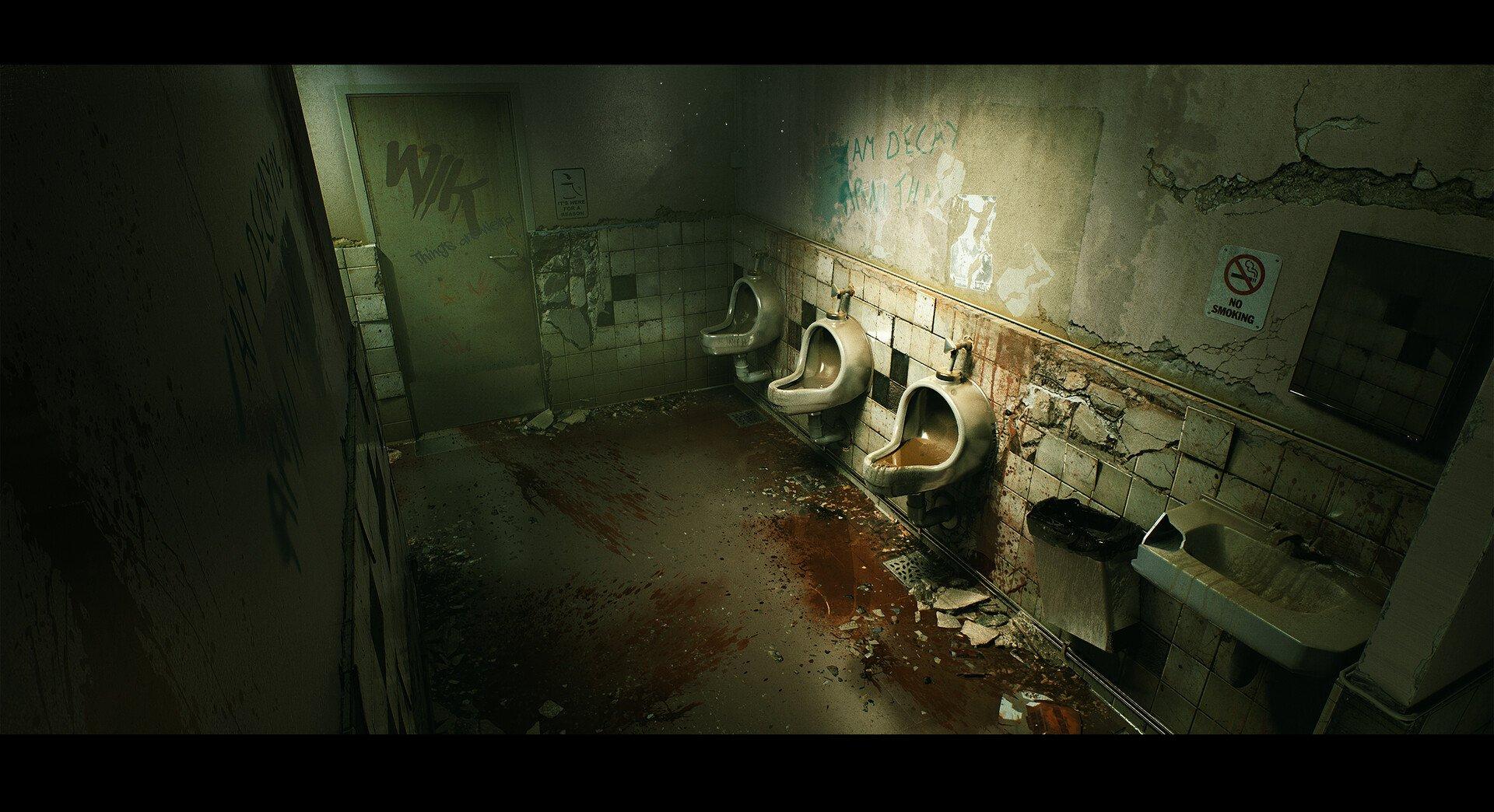 Quixel S 3d Art Lead Remakes Silent Hill 2 Bathroom Scene In