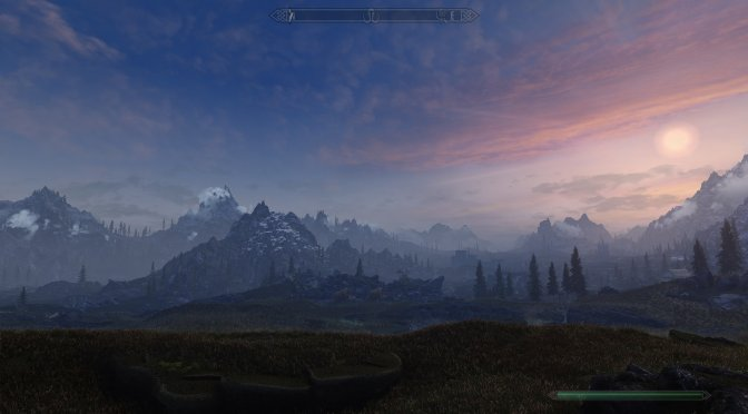 This mod for The Elder Scrolls V: Skyrim introduces Volumetric Fog/Mist