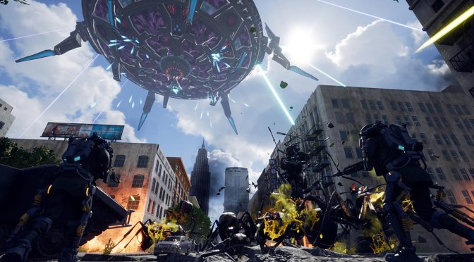 EARTH DEFENSE FORCE: IRON RAIN releases on the PC on October 15th, PC system requirements revealed