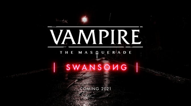 Vampire: The Masquerade – Swansong is another Epic Games Store exclusive, gets new trailer