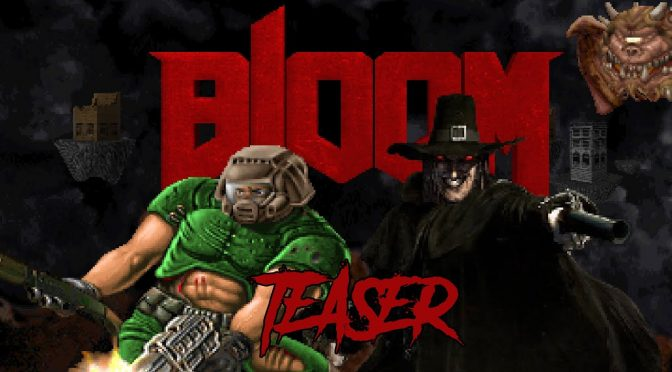 New demo released for the Blood vs Doom mashup, Bloom, featuring 4 maps and 30 hybrid enemies
