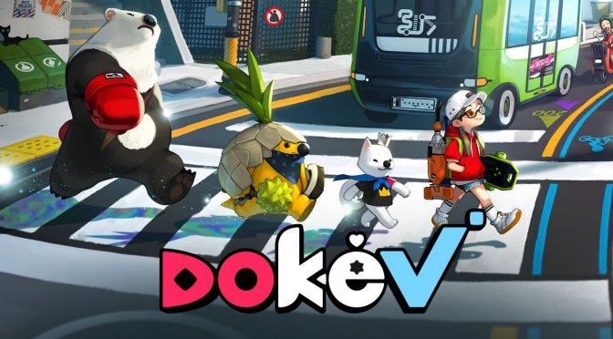 DokeV is a new open-world creature collecting MMO from the creators of Black Desert Online