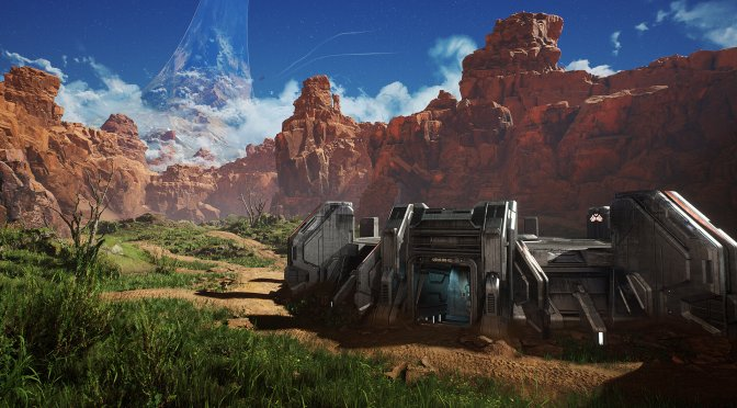 Quixel's Environment Artist remakes Halo's Blood Gulch in Unreal Engine 4