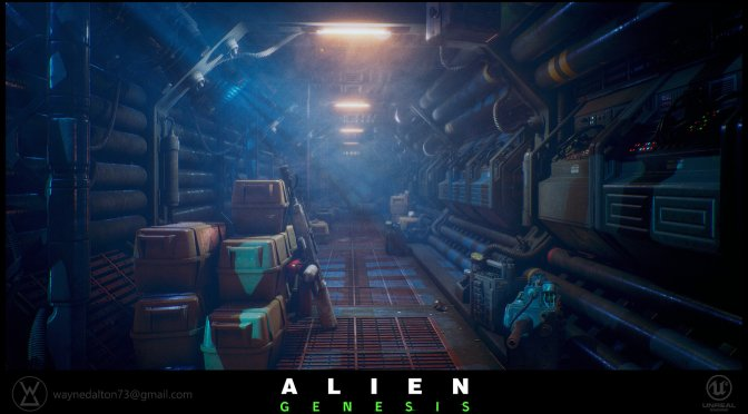 Alien Genesis is an Unreal Engine 4 fan project that looks absolutely stunning