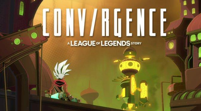 Riot Forge announces CONV/RGENCE: A League of Legends Story