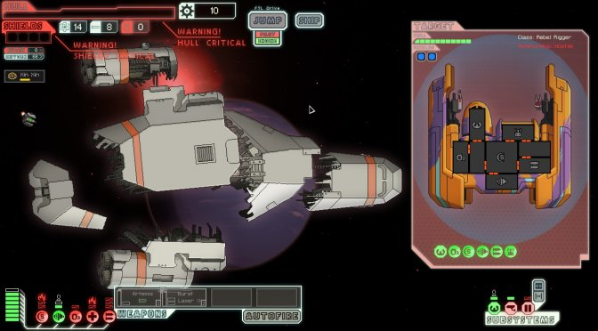 FTL: Faster Than Light is available for free on Epic Games Store for the next 24 hours