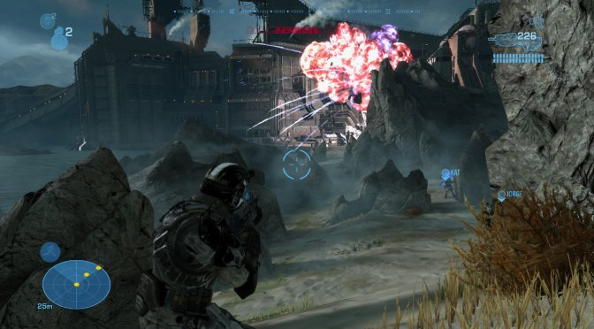 You can now play the single-player campaign of Halo: Reach as an ODST soldier