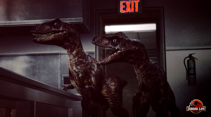 First look at the revamped Velociraptors for the Jurassic Park mod for Half-Life 2, Jurassic Life