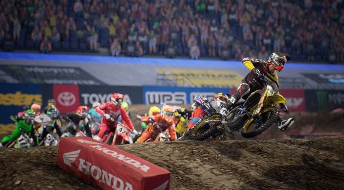 New trailer for Monster Energy Supercross – The Official Videogame 3 focuses on its physics system