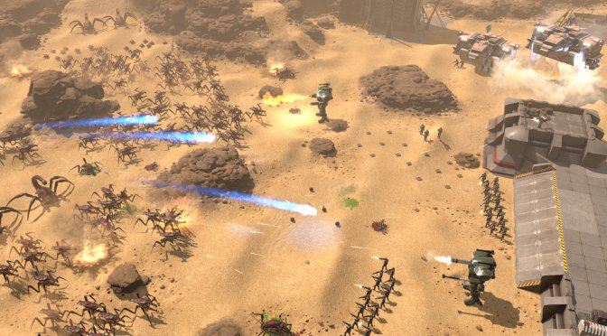 Starship Troopers – Terran Command is a new real-time strategy game set in the Starship Troopers movies universe