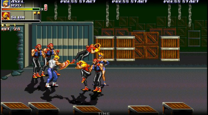 Streets of Rage 2X Version 1.7 is now available for download