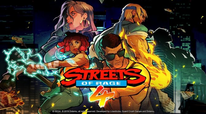 Streets of Rage 4 – First Impressions + PC Gameplay Footage