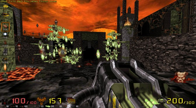 WGRealms 2020 is a Duke Nukem 3D total conversion inspired by Unreal, Blood, Hexen & Doom