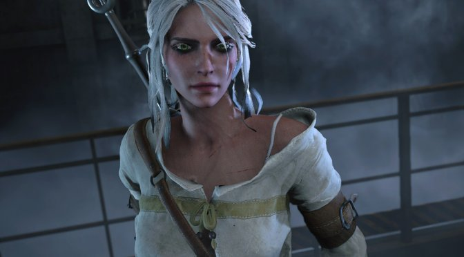 This mod allows you to play as Ciri from The Witcher 3 in Resident Evil 2 Remake