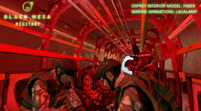 Black Mesa: Military lets you experience Half-Life from the view of a HECU Marine, Version 2.2 released