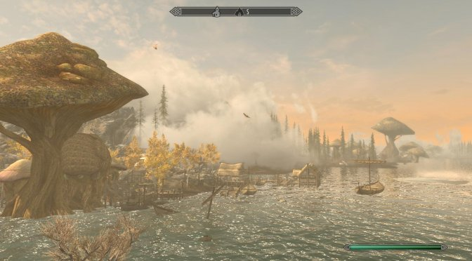 Land of Vominhem, The Witcher 3-inspired fan expansion for The Elder Scrolls V: Skyrim, released