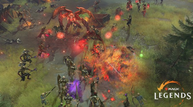 First screenshots and gameplay trailer for the upcoming free-to-play MMO Action RPG, Magic: Legends
