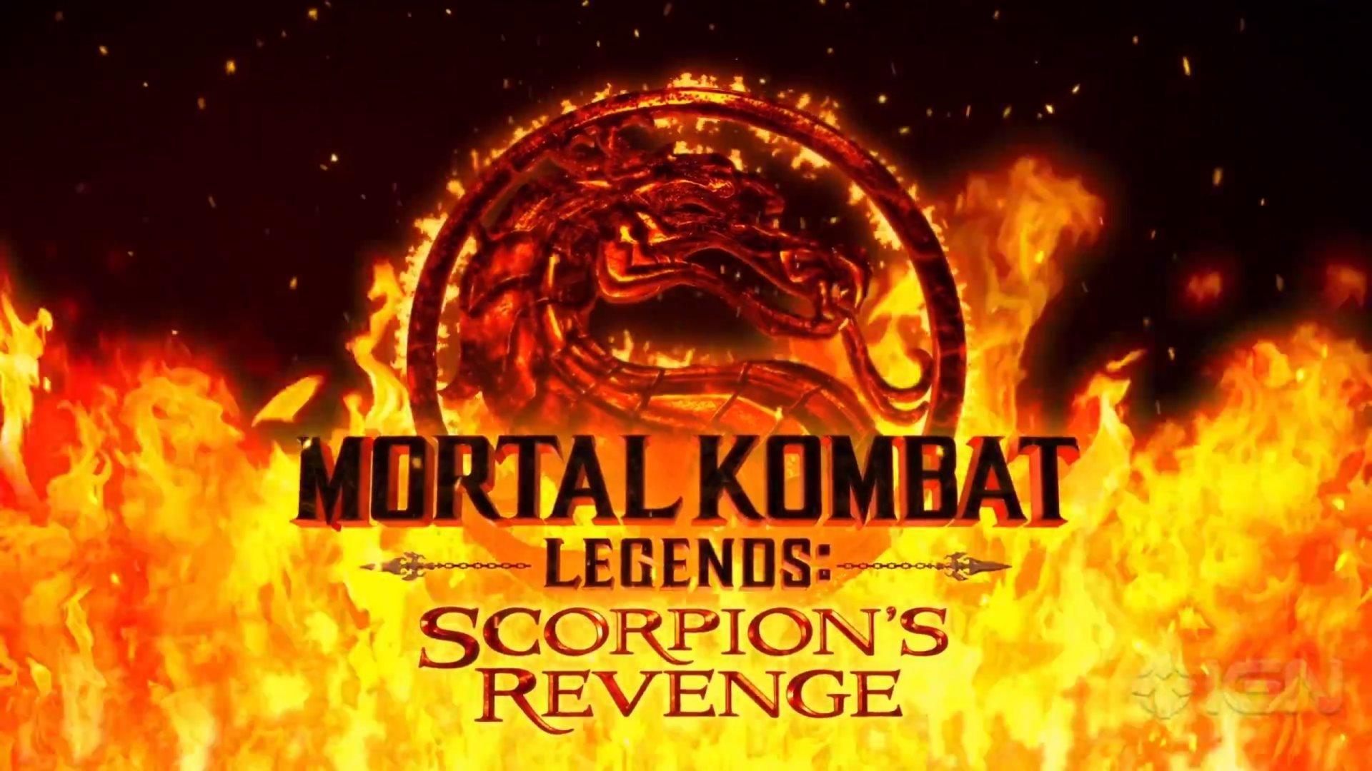 Mortal Kombat Legends: Scorpion´s Revenge Logo