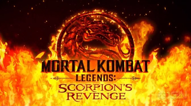 Mortal Kombat Legends: Scorpion's Revenge is an R rated feature-length animated film that looks awesome