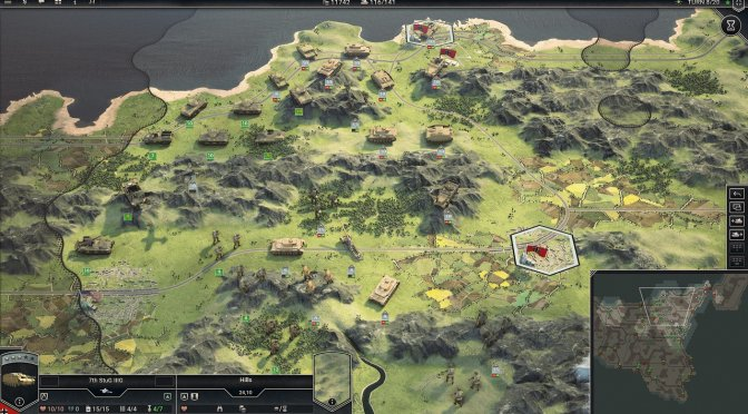 Strategy game Panzer Corps 2 releases on March 19th