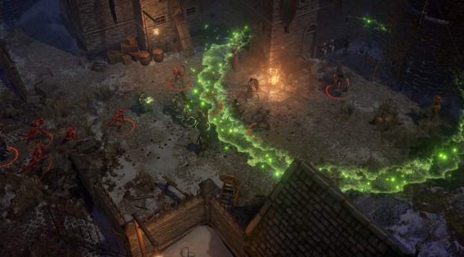 First screenshots released for the upcoming classic isometric CRPG, Pathfinder: Wrath of the Righteous