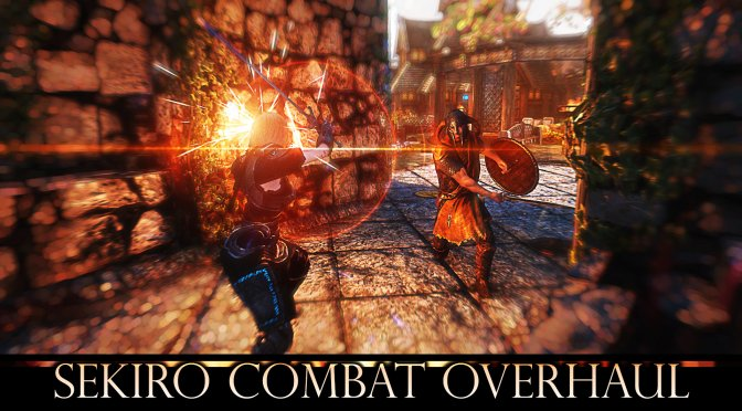 Sekiro Combat Overhaul Mod for The Elder Scrolls V: Skyrim available now for download