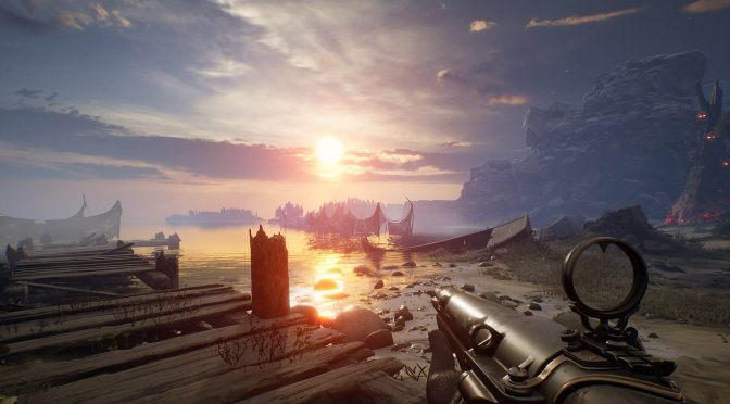 Here are four new screenshots for the first-person dark fantasy shooter, Witchfire