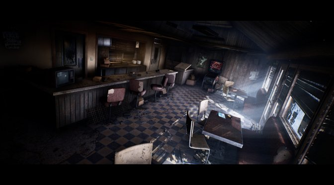 This Silent Hill Remake of the Cafe Environment in Unreal Engine 4 looks ridiculously amazing