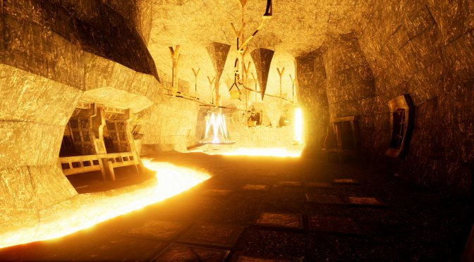 New screenshots released for the Arx Fatalis Fan Remake in Unreal Engine 4